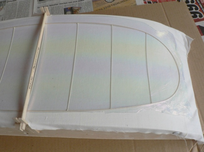 Figure 6. Presumably, the adhesive to glue the film to the structure has already been applied.